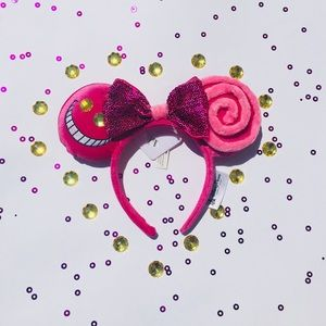 Chesire Cat Minnie Mouse Ears